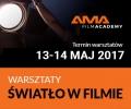 AMA Film Academy - Warsztaty ŚWIATŁO W FILMIE